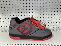 Heelys Propel 2.0 Boys Youth Athletic Rollerblading Skate Shoes Size 5 Gray Red