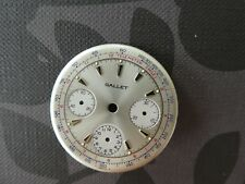 Original Gallet  dial for Valjoux 72 movement  ungetragen 32mm (2)