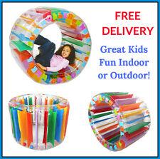 Children Inflatable Roller Wheel Sensory Fun Autism Activity Toys Indoor Outdoor