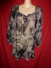 Target 3/4 Sleeve Casual Striped Tops & Blouses for Women