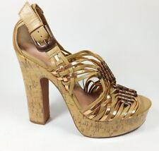 Kurt Geiger open toe strappy high heel shoes uk 7 eu 40 super condition
