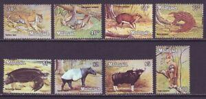 Malaysia 1979 SC 175-182 MNH Set Wildlife