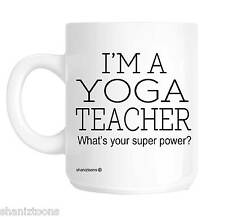Yoga Teacher Novelty Gift Mug