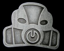 RETRO STYLE HALO 3D HELMET BELT BUCKLE NEW!