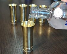 Shot Glass original WWII WW2 German Art brass military cup mug metal Solothurn