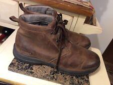 Bogs Men's Sz 11.5 cruz Chukka Leather Waterproof Boots distressed Brown