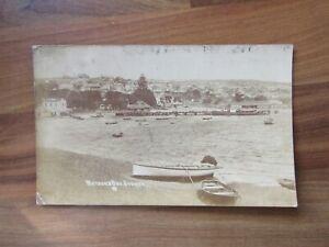 Antique real photo postcard - Watsons bay - Sydney Australia
