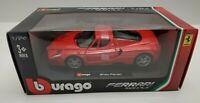 Burago Enzo Ferrari 1/24 Scale Diecast Car Red EUC Collectible