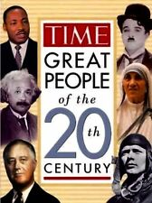 Time's Great People of the 20th Century-New Hardcover 1996-Great Collectible!!