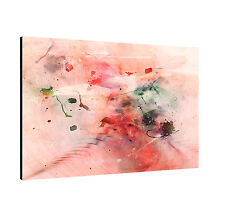 """47.2""""x31.5"""" Image Paul Sinus Series Enigma On Canvas Timeless Pink Red Green"""