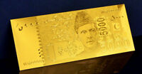 "★★ PAKISTAN : BILLET POLYMER  "" OR "" DU 5000 RUPEES 2006 ★★"