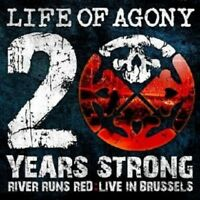 """LIFE OF AGONY """"20 YEARS STRONG: RIVER ..."""" CD+DVD NEW!"""
