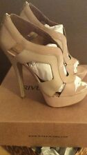 River Island Light Pink Leather and Suede Heels *Price Drop*