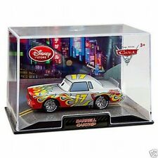 Disney Store Cars 2 Die Cast Collector Case Darrell Cartrip 1:43 Scale NEW