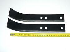 Couteau Gauche Type Bineur pour motoculteur Honda (x2)