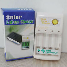 0.5W Solar Battery Charger With USB Portable for AA AAA Rechargeable batteries