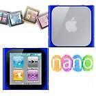 Housse etui coque silicone bleu iPod Nano 6 6G + FILM