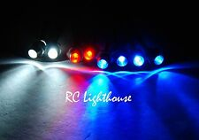 RC Lights Super Bright LED Light set for Traxxas E-Revo or Slash 1/16 2W2R4B 3mm