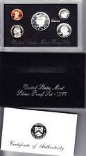 1997 US Mint Silver Proof Set, Gem Coins w/ Box