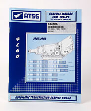 4L60 700R4 ATSG Transmission Repair Rebuild Service Manual 1987-93 for GM