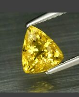 Heliodoro 1 ct 7x6.3mm vs billones berilo amarillo natural de Madagascar !!