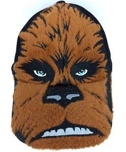 Star Wars Cap Chewbacca Wookiee Snapback Hat Furry Logo Black Brown Kids Sz Boys