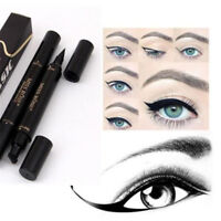 Winged Eyeliner Stamp Eye Liner Pencil Black Liquid Waterproof Makeup Cosmetic