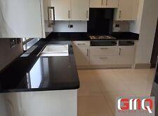 Black Granite & Quartz Kitchen Worktop | Affordable prices | 3000 x 650 x 30