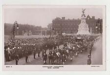 RPPC,Royalty,U.K.Coronation Procession,King George V & Queen Mary,London,1911