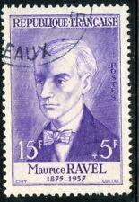 PROMO / STAMP / TIMBRE DE FRANCE OBLITERE N° 1071 MAURICE RAVEL COTE 10 €