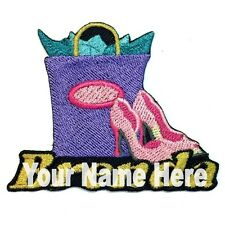 Shoe Shopping Custom Iron-on Patch With Name Personalized Free