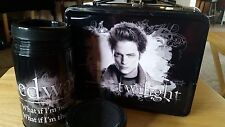 """""""Twilight"""" Lunch Box & Thermos-  Metal - EXC"""