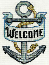Cross Stitch Kit ~ Design Works Welcome Anchor #DW3284