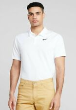 NIKE GOLF DRY ESSENTIAL SOLID POLO SHIRT SIZE XL WHITE