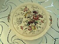 Johnson Brothers Dinnerware Sheraton Made in England Casserole with Cover Floral