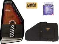 Oscar Schmidt 21 Chord/11 Key A/E Autoharp, Select Maple, OS21CE w/Soft Case