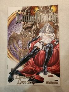 Avatar Lady Death Leather & Lace 2005 Gold Foil Variant by Juan Jose Ryp