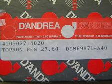 D`Andrea Kombidorn, Messerkopf-Aufnahme,Toprun,  SK 40 DIN 69871 A40 PFS27.60