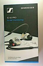 Sennheiser IE 40 Pro Dynamic In-Ear Monitoring Headphones, (Black)