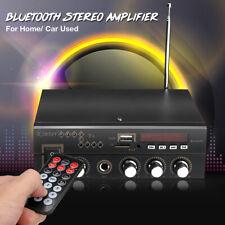 600W Digital bluetooth Amplifier HiFi Audio Stereo AMP USB/SD/FM/Mic Home & Car