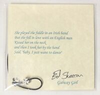 Ed Sheeran Galway Girl Necklace & Clover Pendant By Imogen Sheeran
