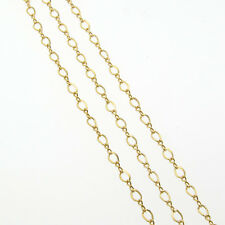 20 Inch 14k Gold Filled Figure 8 Chain Necklace With Gold Filled Lobster Clasp