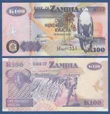 SAMBIA / ZAMBIA 100 Kwacha 2008  UNC  P. 38 g