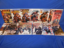 Marvel 2005 CAPTAIN AMERICA  #6 14 34 1st Appearance 15 Winter Soldier Key Lot