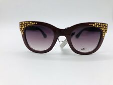 Crystal CG Eyewear Cat Eye Diamante Design Womens Sunglasses 100/%UV400 1829