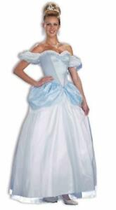 Womens Adult Story Book Princess CINDERELLA Costume