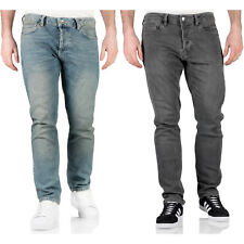 """Topman Mens Stretch Slim Fit Jeans Denim Blue Grey SKINNY Trousers Pants 32 In. Long (32"""") One of Each Colour"""