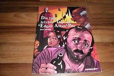 Dick Matena -- die 5 LETZTEN TAGE des EDGAR ALLEN POE // Carlsen Comic Art  1988