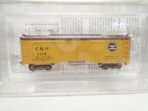 Micro-Trains HOn3 30' Composite Frame Reefer, C&S, lot B