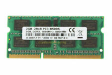New listing Tested 2Gb Ram Pc3-8500S Ddr3 1066Mhz So-Dimm Intel Laptop Notebook Memory @Ry